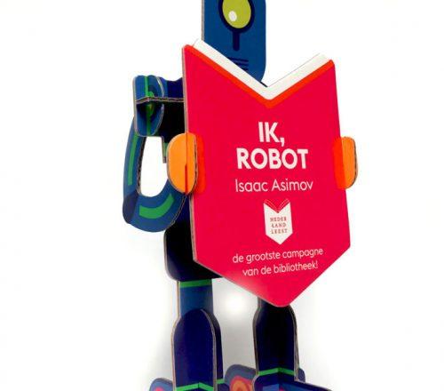 Robotica tijdens Nederland Leest