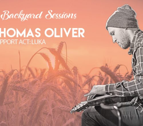Backyard Sessions met Thomas Oliver en Luka