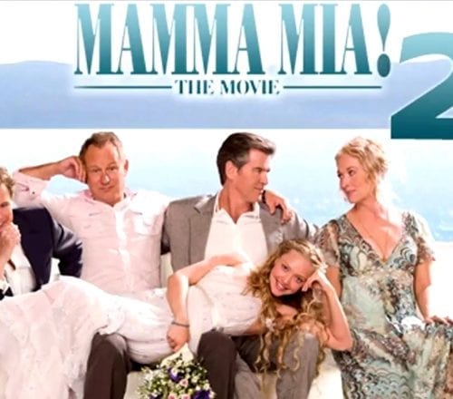Première Mamma Mia! Here We Go Again