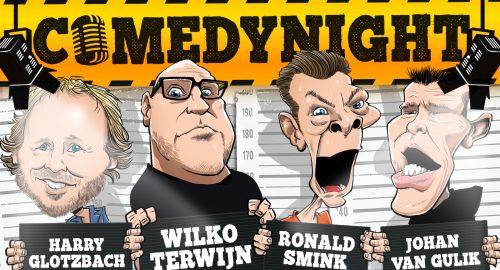 ComedyTunes Comedynight in De Smidse