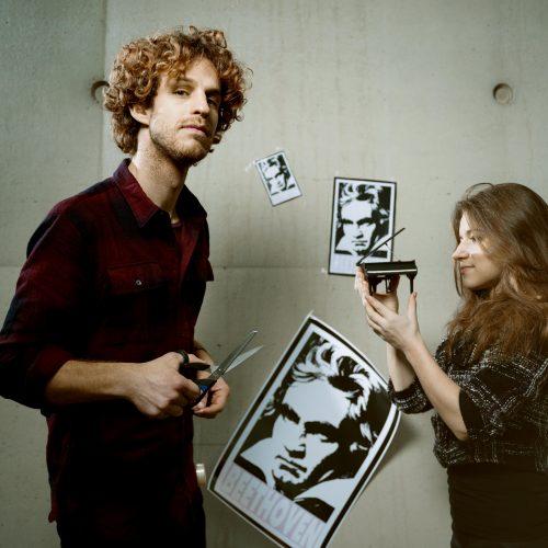 Floris Kortie en Vera Kooper – Het jaar 250 na Beethoven – © Merlijn Doomernik (liggend)