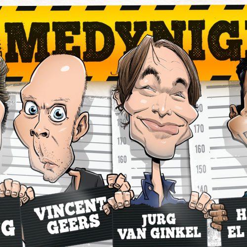 comedy tunes 15 februari