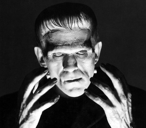 Mary Shelley en Frankenstein