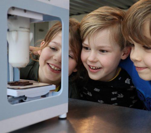 High Tech: Chocoladeprinter (6-9 jaar)